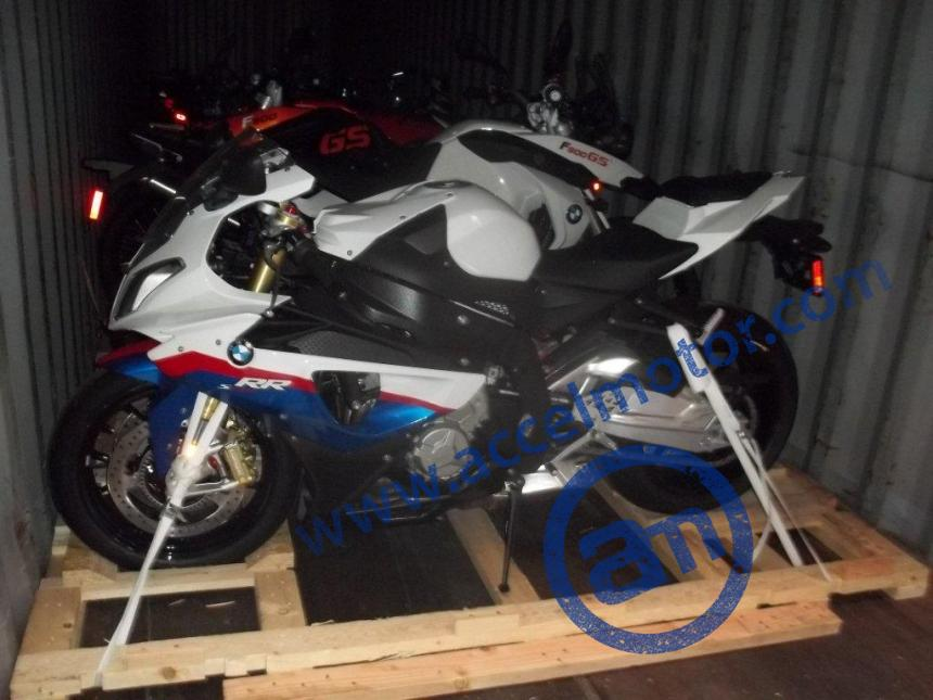 Shipping A Car >> Container loaded with luxury motorcycle (6) | Accel Motor - US Nationwide & Worldwide Auto Transport
